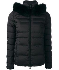 Duvetica | Fur Trimmed Puffer Jacket 42 Polyamide/Polyurethane/Spandex/Elastane/Feather Down