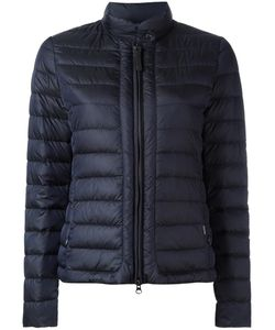 Woolrich | Banded Collar Zipped Jacket Xl Polyamide/Feather Down