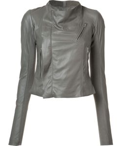 Rick Owens | Cropped Biker Jacket 46 Leather
