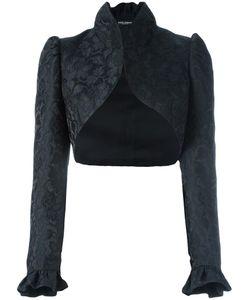 Dolce & Gabbana   Jacquard Bolero 42 Silk/Polyester/Acrylic