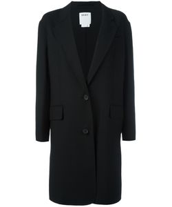 DKNY | Single Breasted Coat Xs Wool/Spandex/Elastane/Polyester
