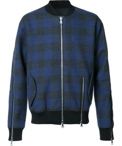 Mostly Heard Rarely Seen | Plaid Bomber Jacket Large