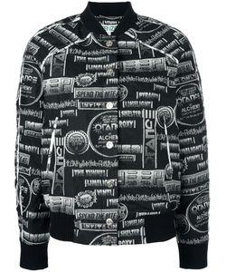 Kenzo | Printed Bomber Jacket Large Polyester/Cotton/Acrylic/Spandex/Elastane