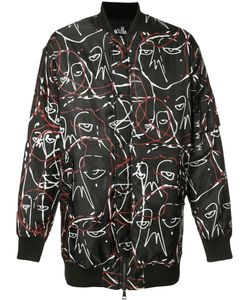 HACULLA | Abstract Print Bomber Jacket Xl Nylon
