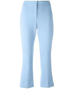 Theory | Cropped Flared Trousers 6 Polyester/Spandex/Elastane/Viscose
