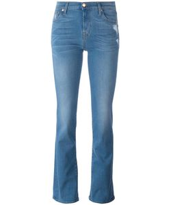 7 for all mankind | Stonewashed Bootcut Jeans 28