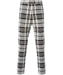 Thom Browne | Woven Check Trousers 1 Cotton/Polyurethane/Nylon/Cupro