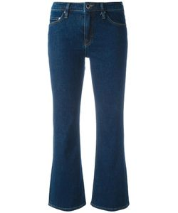 Victoria, Victoria Beckham | Victoria Victoria Beckham Flared Cropped Jeans 28 Cotton/Polyester/Spandex/Elastane