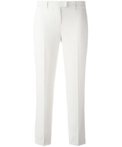'S Max Mara | Tailored Cropped Trousers 38 Viscose/Acetate/Spandex/Elastane