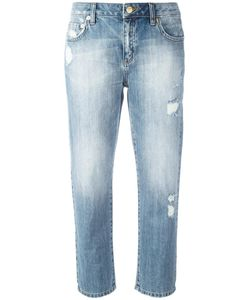 Michael Michael Kors | Distressed Cropped Jeans 2 Cotton