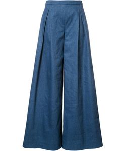 Carolina Herrera | Classic Flared Trousers 0 Cotton