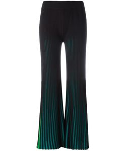 Kenzo | Ribbed Flared Trousers Xs Cotton/Viscose