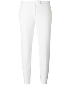 Joseph | Tailored Cropped Trousers 34 Viscose/Cotton/Spandex/Elastane