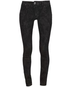 BORIS BIDJAN SABERI | Coated Skinny Jeans Large Cotton/Polyester/Spandex/Elastane
