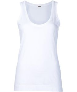 Adam Lippes | Scoop Neck Tank Top Large Cotton
