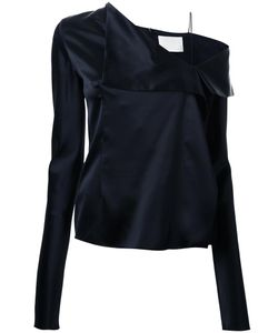 Dion Lee | Fold Detail Top 8 Silk