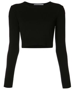 ROSETTA GETTY | Cropped Jumper Small Cashmere/Wool