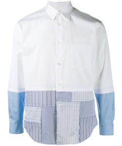 Comme Des Garçons Shirt Boy   Patchwork Shirt Medium Cotton Comme Des Garçons Shirt