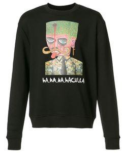 HACULLA | Logo Print Sweatshirt Large Cotton/Polyester