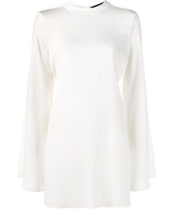 Ellery | Long Sleeve Tunic Top 8 Acetate/Polyester
