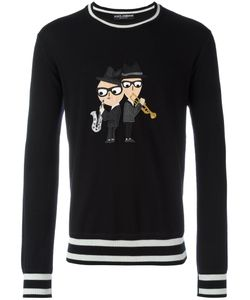 Dolce & Gabbana | Designers Patch Jumper 50 Virgin