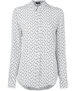 Joseph | New Garçon Bird Print Shirt 40 Silk