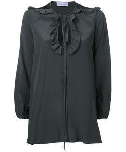 SCANLAN THEODORE | Cdc Picot Ruffle Blouse 8 Silk