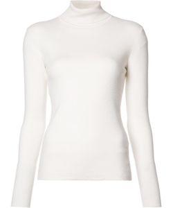 Gabriela Hearst   Roll Neck Sweatshirt Small Cashmere/Nylon/Spandex/Elastane