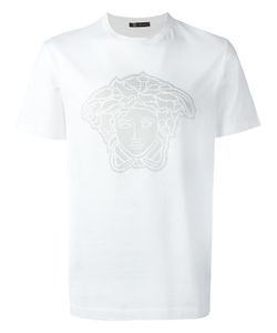 Versace   Studded Medusa Head T-Shirt Large Cotton