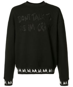 HACULLA | Im Crazy Print Sweatshirt Large Cotton/Polyester