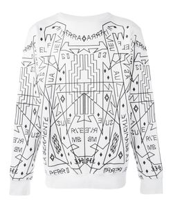 MARCELO BURLON COUNTY OF MILAN | Salomon Sweatshirt Small