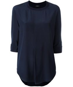 Joseph | Three-Quarters Sleeve Blouse 40 Cotton/Silk/Spandex/Elastane