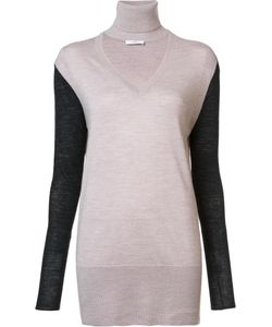TOME | V-Neck Jumper Large Wool