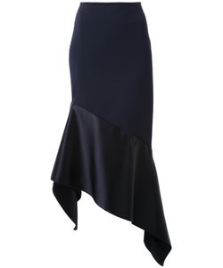 Dion Lee | Asymmetric Midi Skirt 8 Spandex/Elastane/Viscose/Polyimide