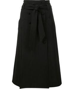 Prabal Gurung | Safari Skirt 8 Silk/Polyester/Spandex/Elastane