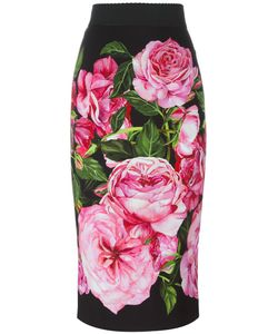 Dolce & Gabbana | Print Straight Skirt 44