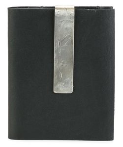 WERKSTATT:M NCHEN | Werkstattmünchen Money Clip Bi-Fold Cardholder Adult Unisex Calf Leather