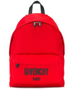 Givenchy | Logo Print Backpack Polyimide/Cotton/Polyurethane