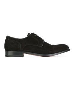Santoni | Classic Derby Shoes 9 Suede/Leather