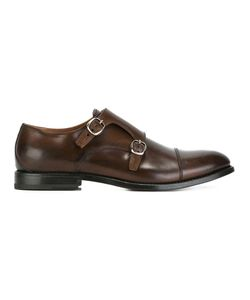 W.Gibbs | Buckle Up Monk Shoes 43.5 Calf Leather/Leather