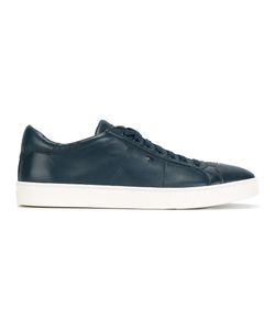 Santoni | Classic Low-Top Trainers 8 Calf Leather/Leather/Rubber