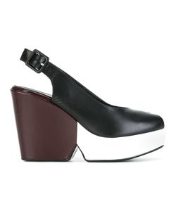 Robert Clergerie | Dylanam Pumps 37.5 Calf Leather/Leather/Rubber