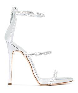 Giuseppe Zanotti Design | Harmony Sparkle Sandals 35 Patent