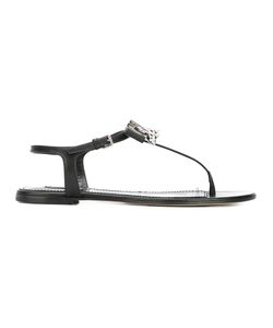 Dsquared2 | Babe Wire Flat Sandals 38 Lamb Skin/Leather