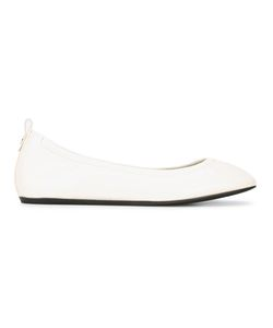 Lanvin | Classic Slip-On Ballet Flats 36.5 Goat Skin/Bos Taurus/Rubber/Patent