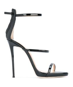 Giuseppe Zanotti Design | Harmony Sandals 36.5 Patent Leather/Leather