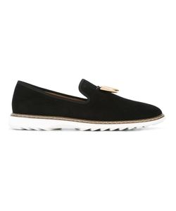 Giuseppe Zanotti Design | Stew Loafers 46 Patent Leather/Rubber/Leather/Metal