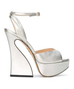 Charlotte Olympia | Dree Sandals 41 Leather