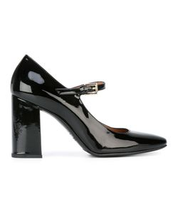 Fratelli Rossetti | Buckled Pumps 39 Patent Leather/Leather/Rubber