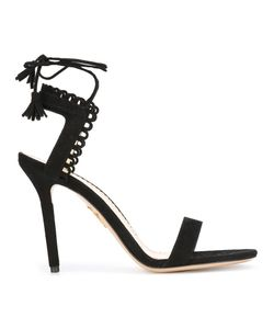 Charlotte Olympia | Salsa 95 Sandals 37 Suede/Leather